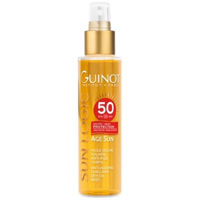 huile seche solaire anti age corps spf50 150ml