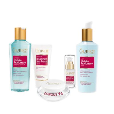 """Great value """"Devitalised Skin"""" Pack of Guinot Products"""