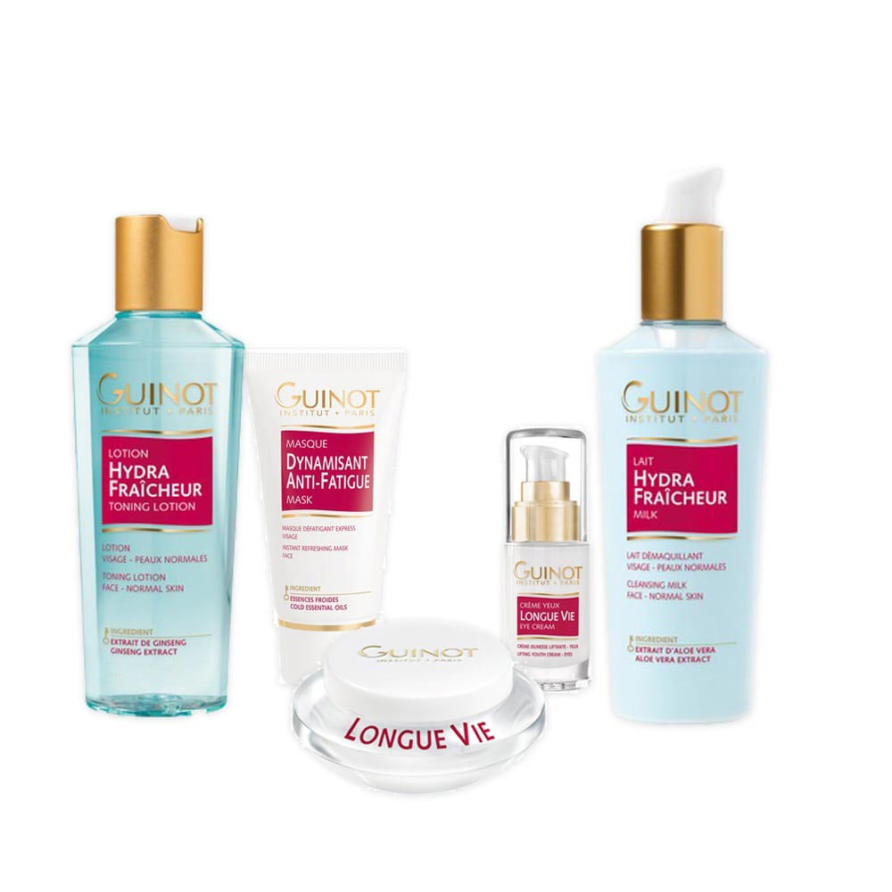 "Great value ""Devitalised Skin"" Pack of Guinot Products"