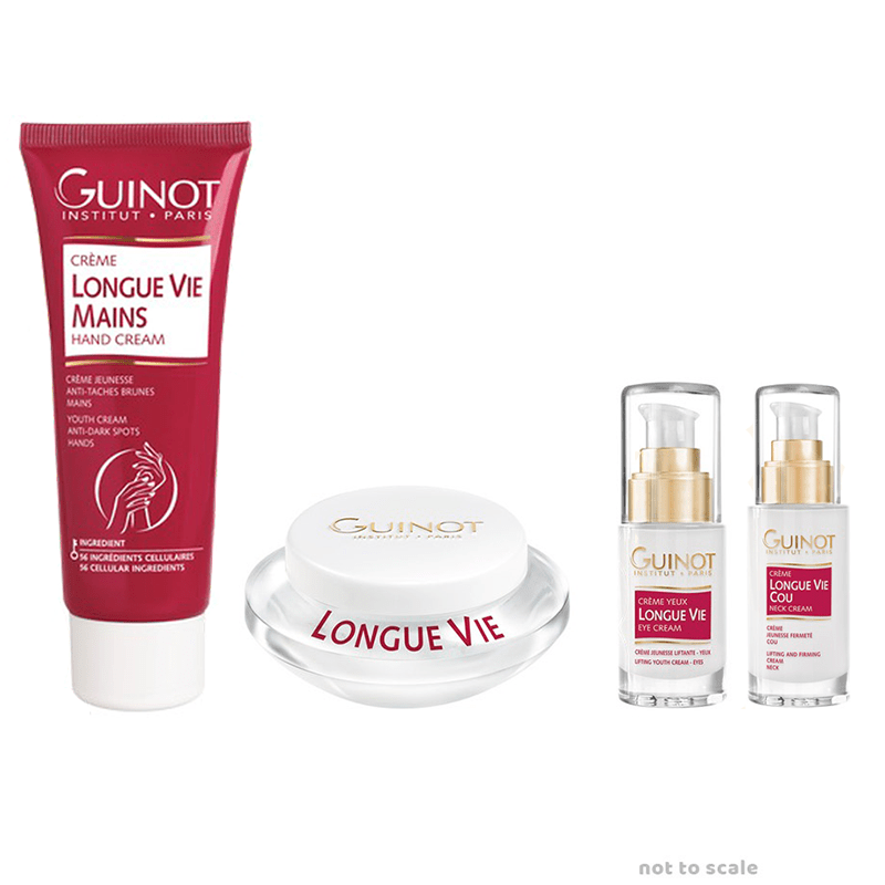 Guinot Longue Vie pack exclusively at The Skincare & Hair Spa