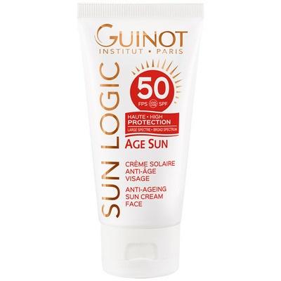 Guinot Sun Logic Age Sun SPF50 Anti-Ageing Sun Cream for Face